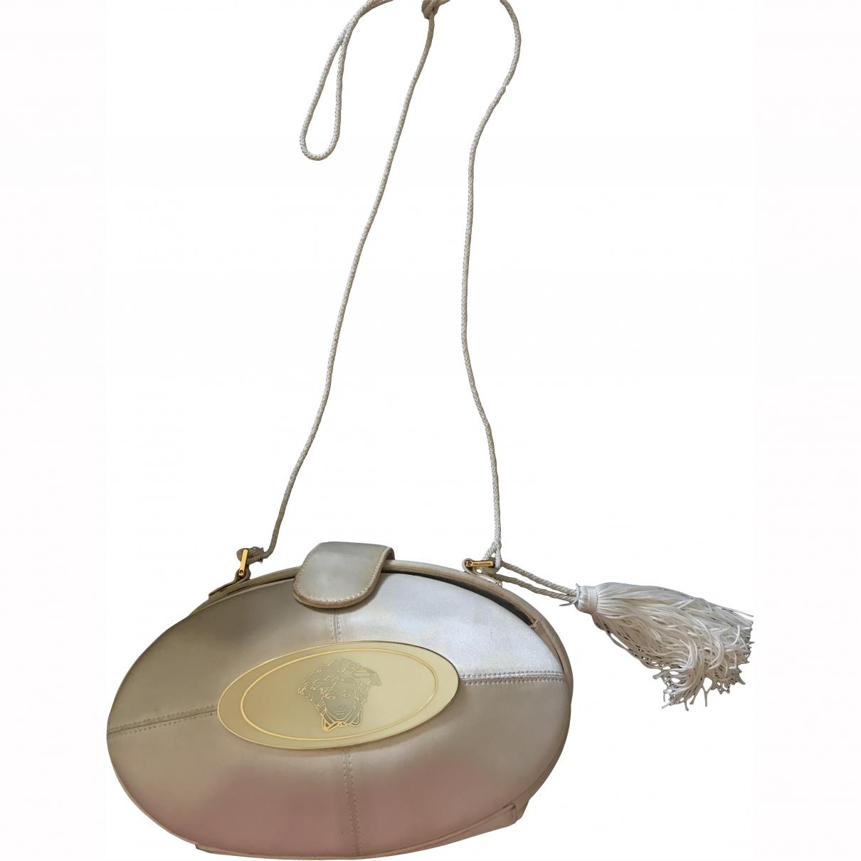Gianni Versace \N White Silk Clutch bag for Women \N