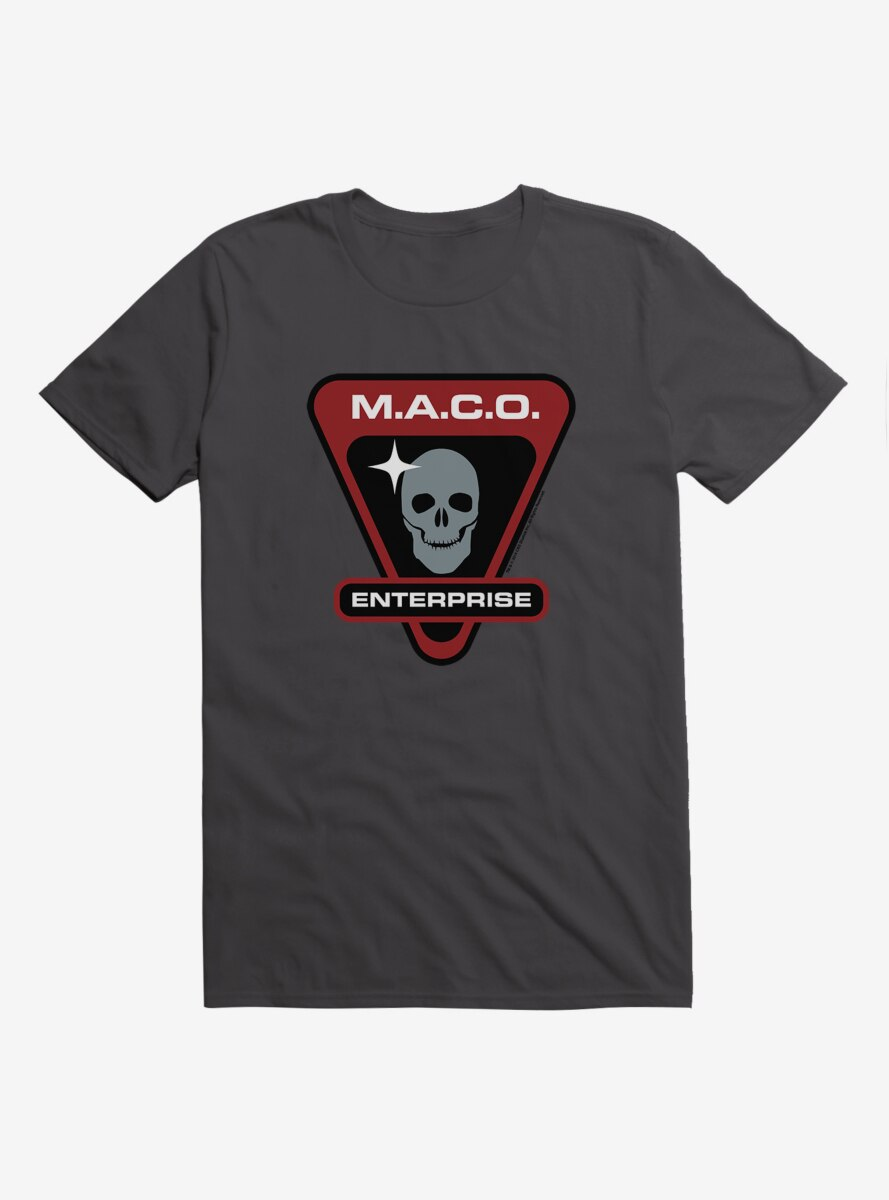 Star Trek M.A.C.O. Enterprise Skull T-Shirt