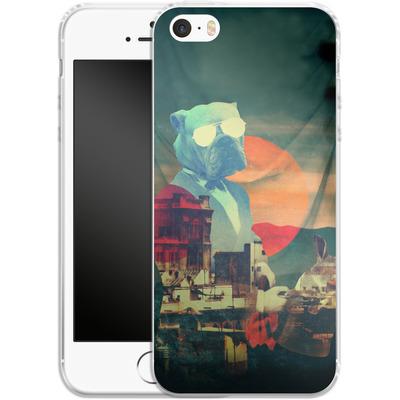 Apple iPhone 5s Silikon Handyhuelle - Abracadabra von Ali Gulec