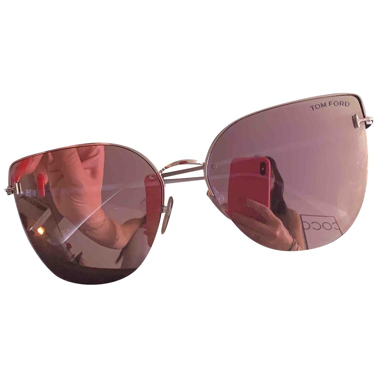 Tom Ford \N Pink Metal Sunglasses for Women \N
