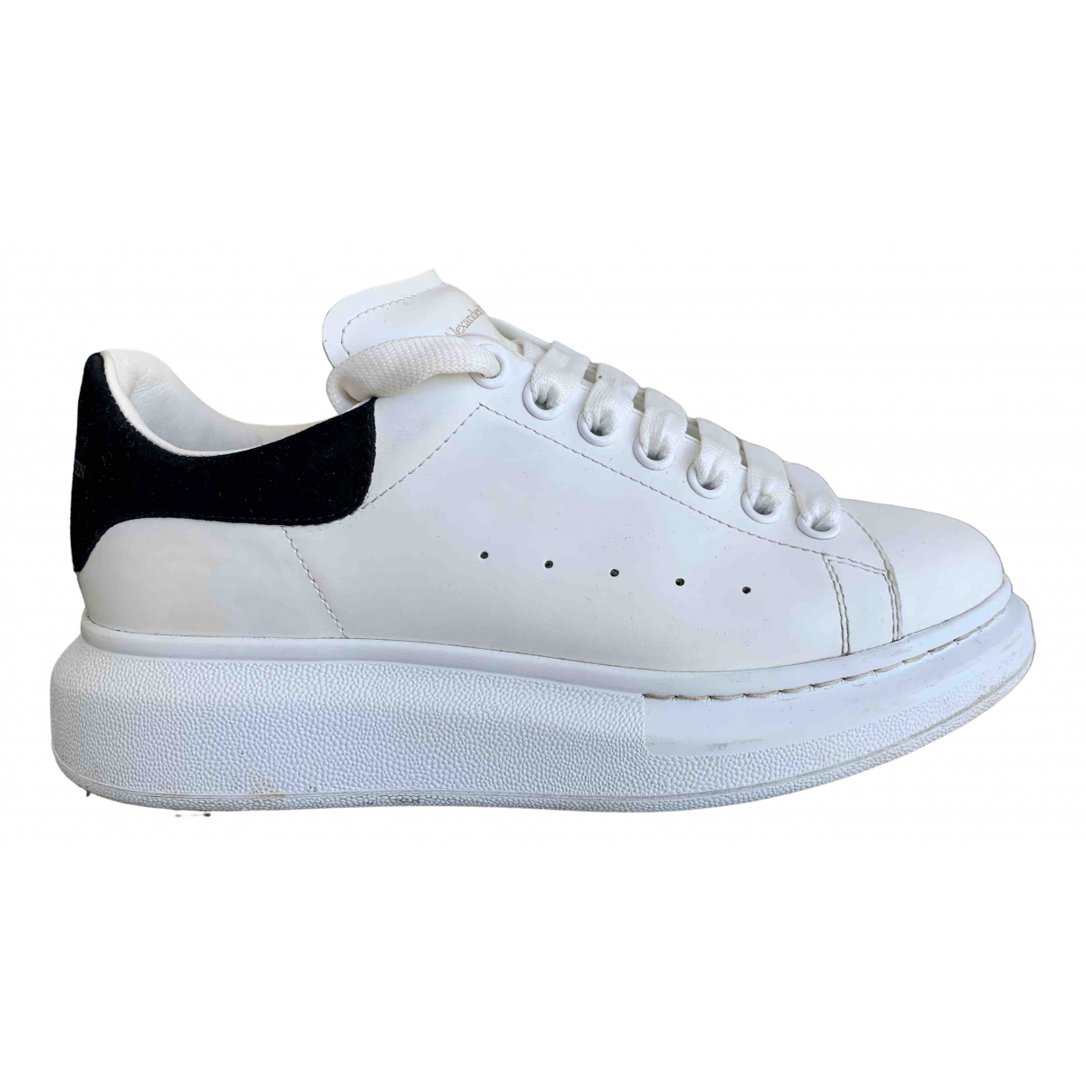 Alexander Mcqueen Oversize White Leather Trainers for Men 39.5 EU