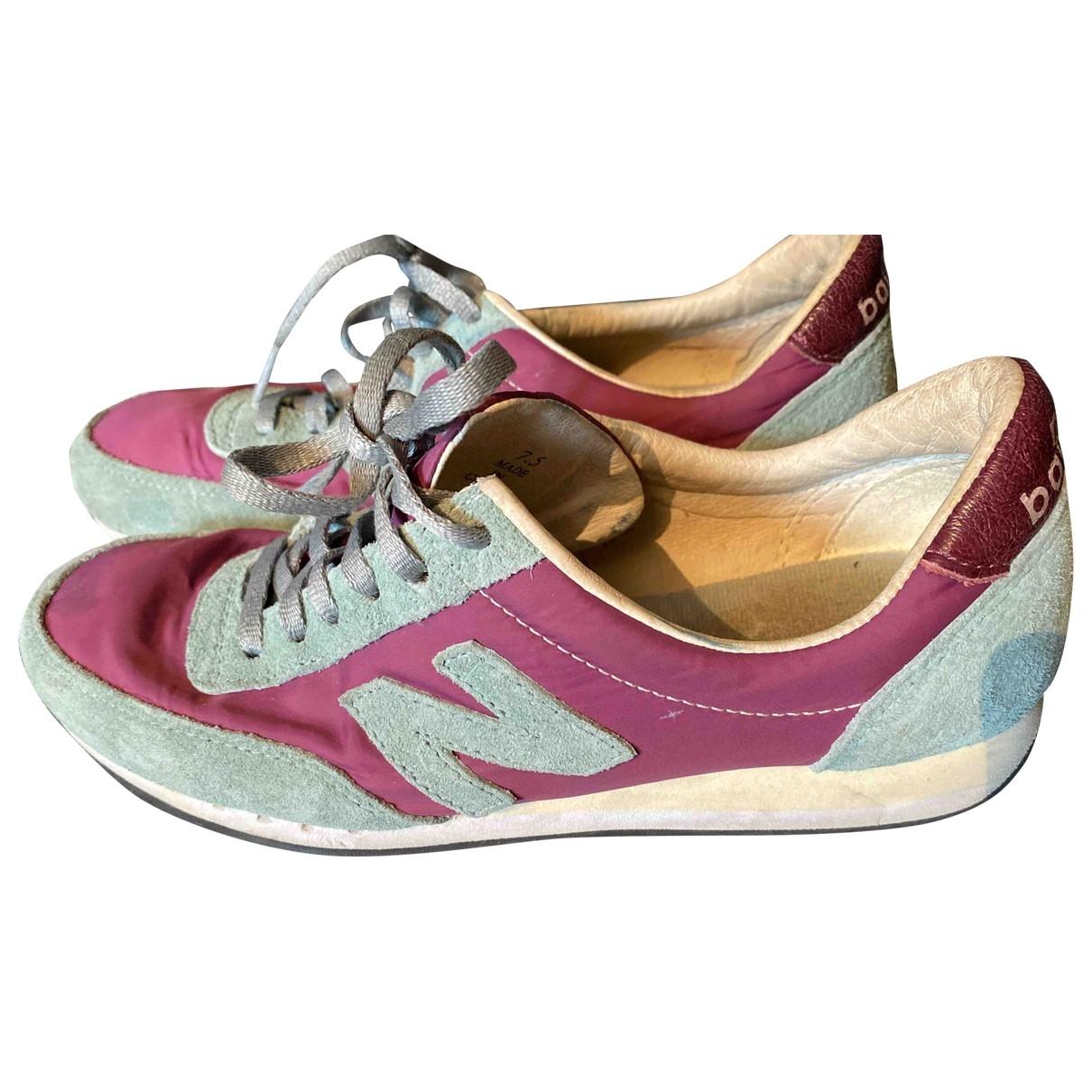 New Balance - Baskets   pour femme en toile - violet