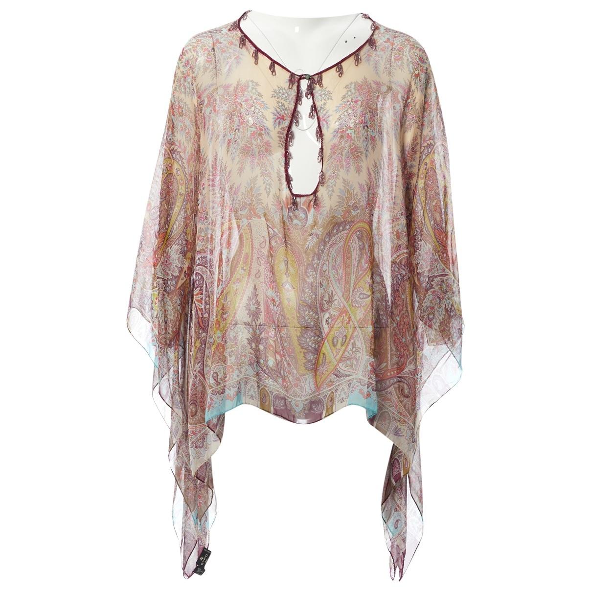 Etro \N Multicolour Silk  top for Women One Size International