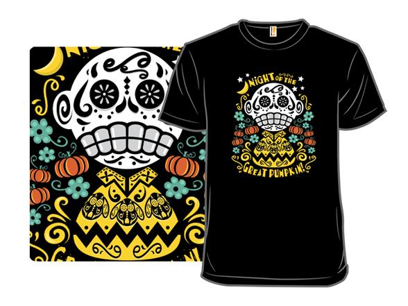 Night Of The Great Pumpkin T Shirt