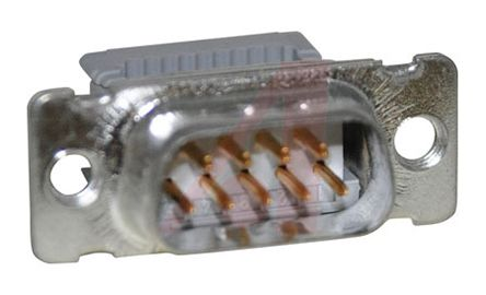 3M , 8200 1.27mm Pitch 9 Way IDC D-sub Connector, Plug, PBT Shell