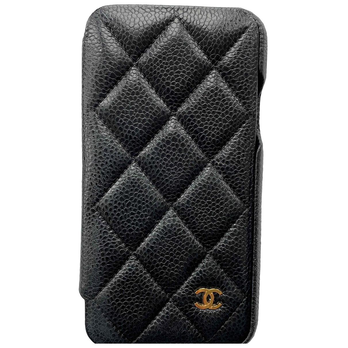 Chanel - Accessoires   pour lifestyle en cuir - noir