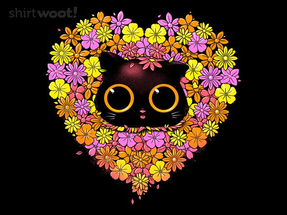 Spring Cat Surprise T Shirt