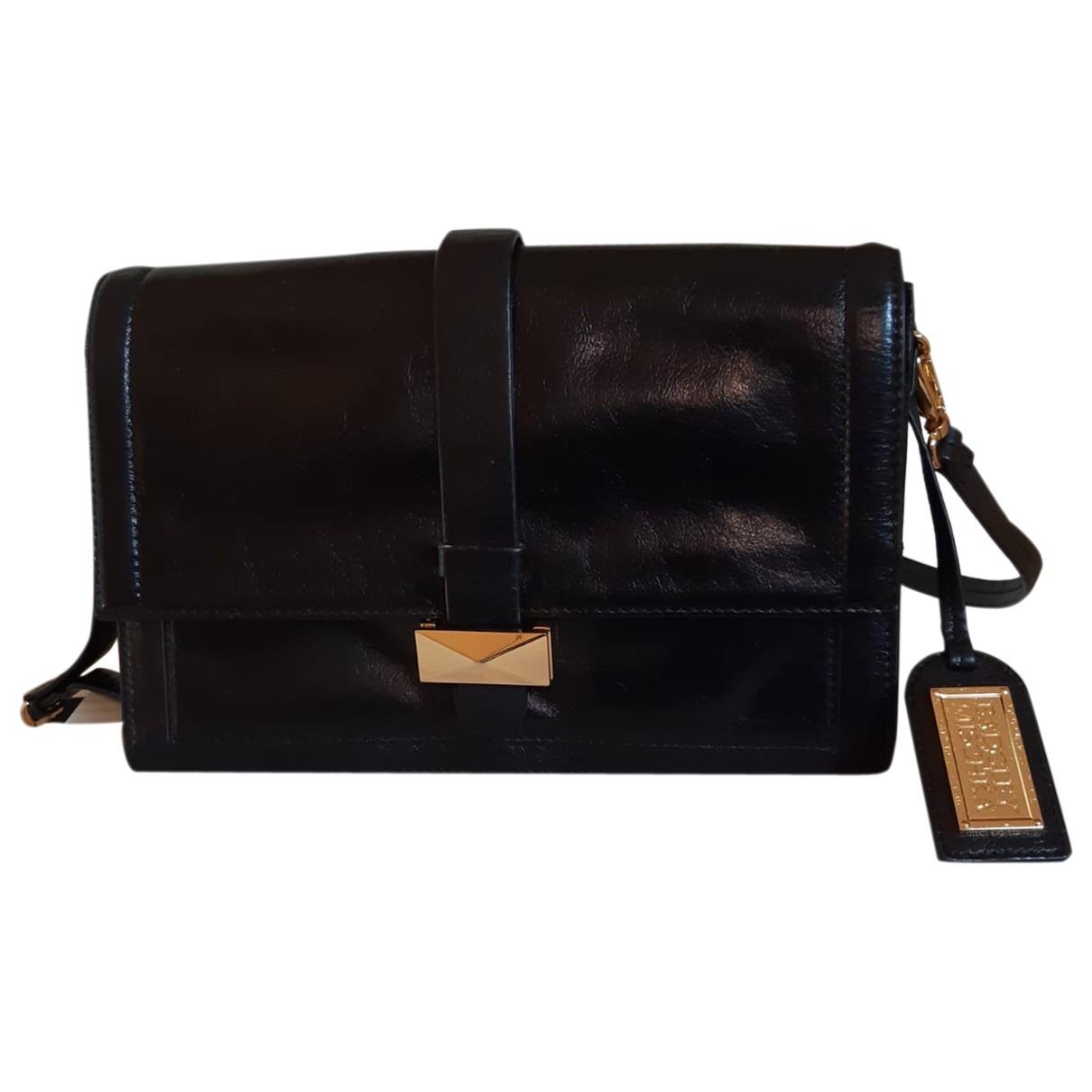 Badgley Mischka \N Black Leather handbag for Women \N
