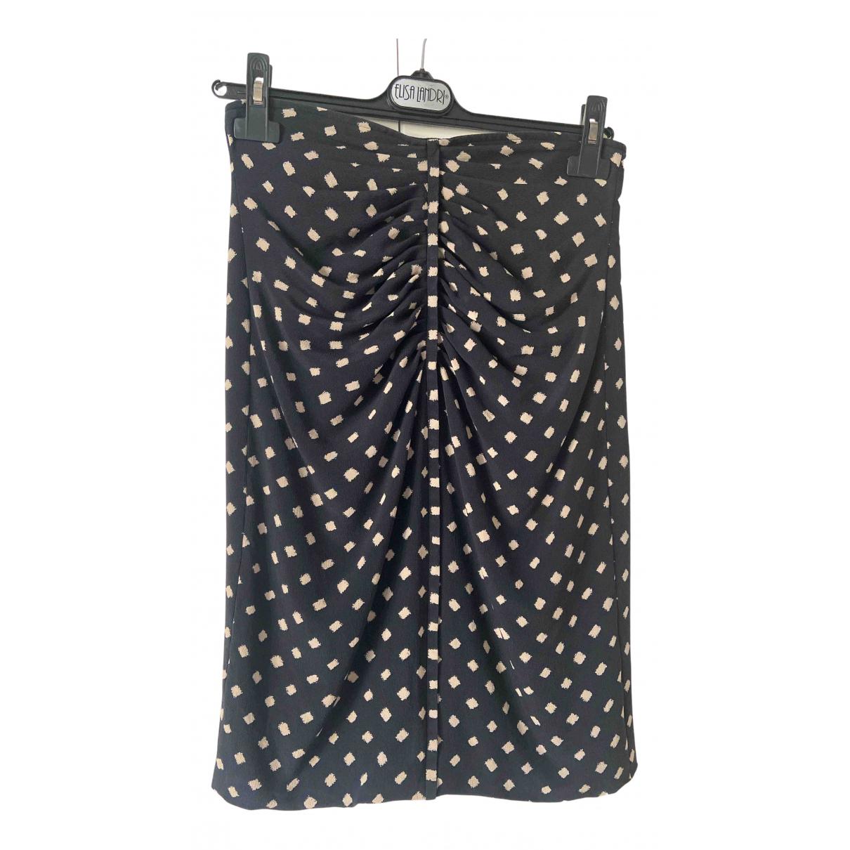 Ungaro Parallele - Jupe   pour femme en soie - noir