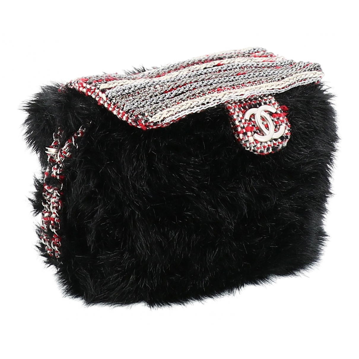 Chanel \N Black Faux fur handbag for Women \N
