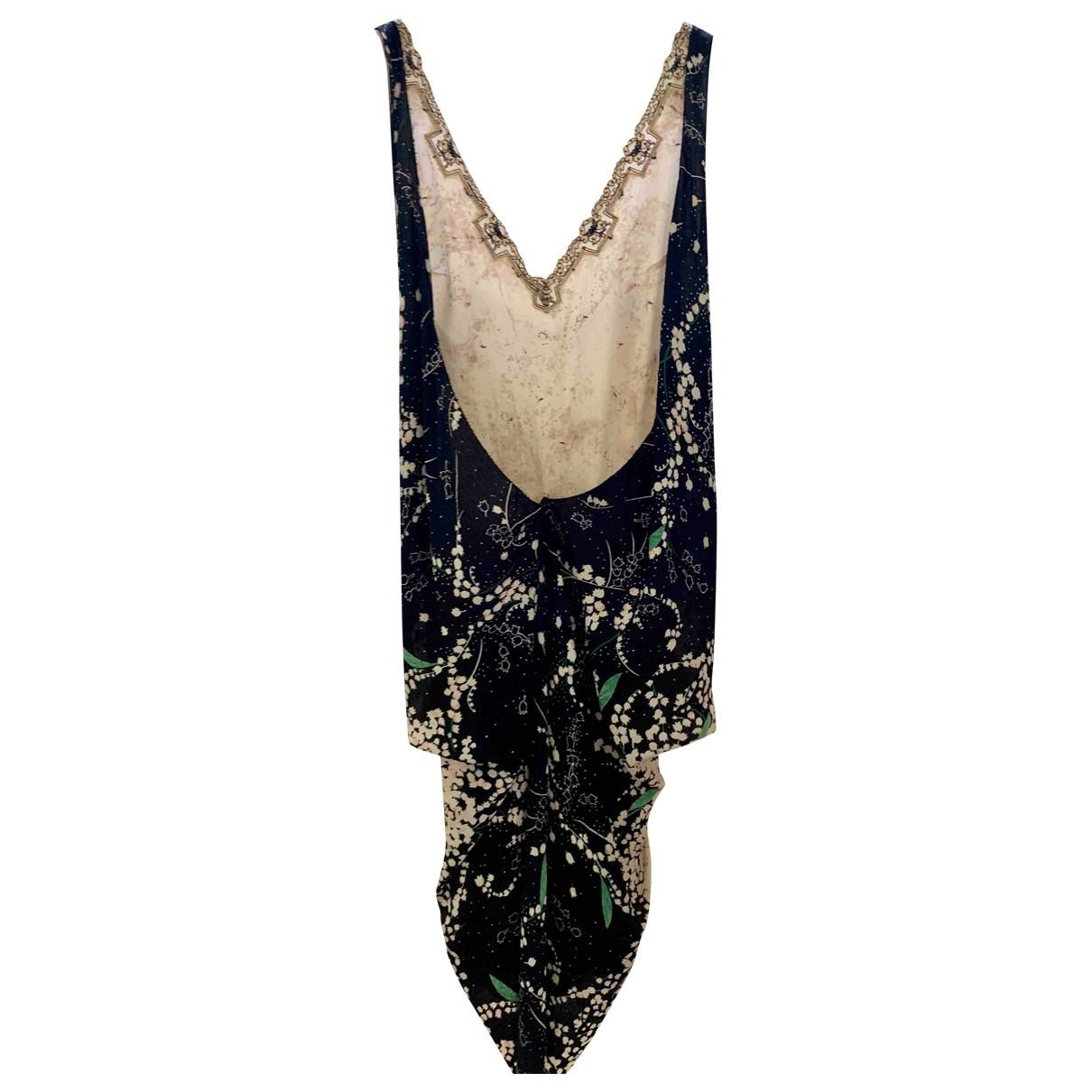 Gabriele Colangelo - Robe   pour femme en soie - rose