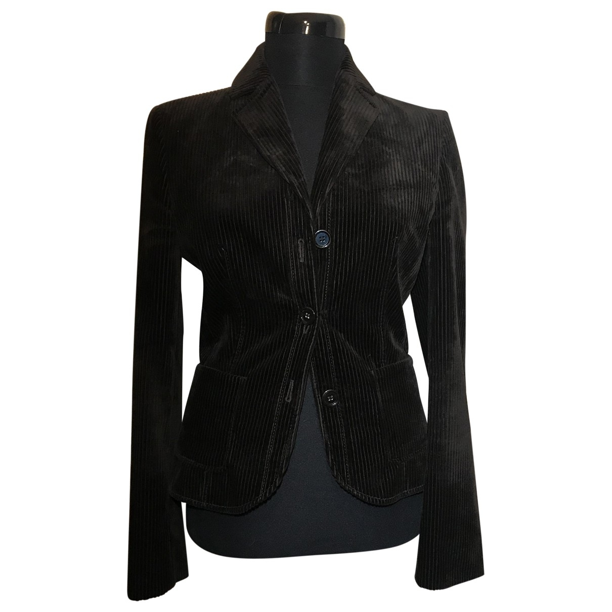 Hugo Boss \N Brown Velvet jacket for Women 36 FR
