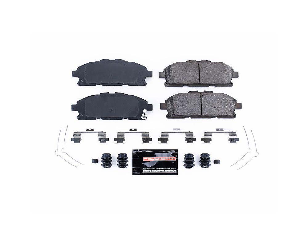 Power Stop Z23-1552 Z23 Evolution Sport Brake Pads w/Hardware Front Nissan Quest 2011-2017