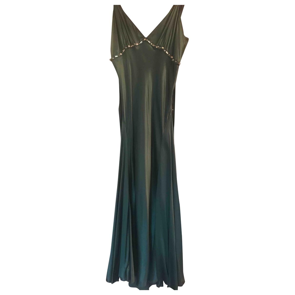 Liu.jo \N Green Silk dress for Women 42 IT