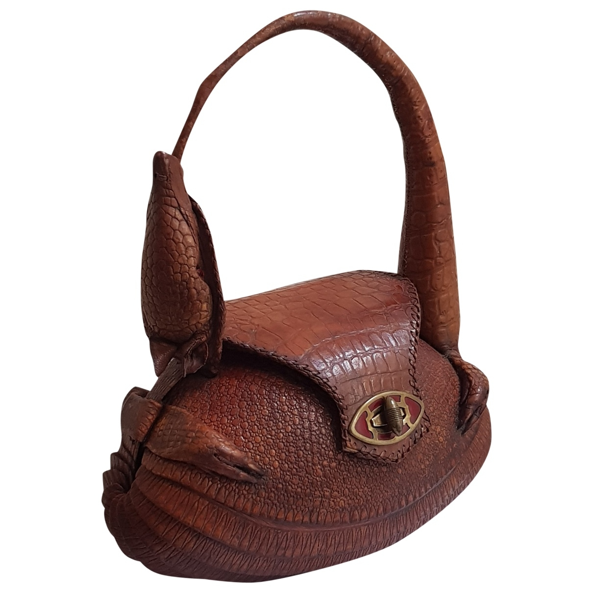 Non Signé / Unsigned \N Exotic leathers handbag for Women \N