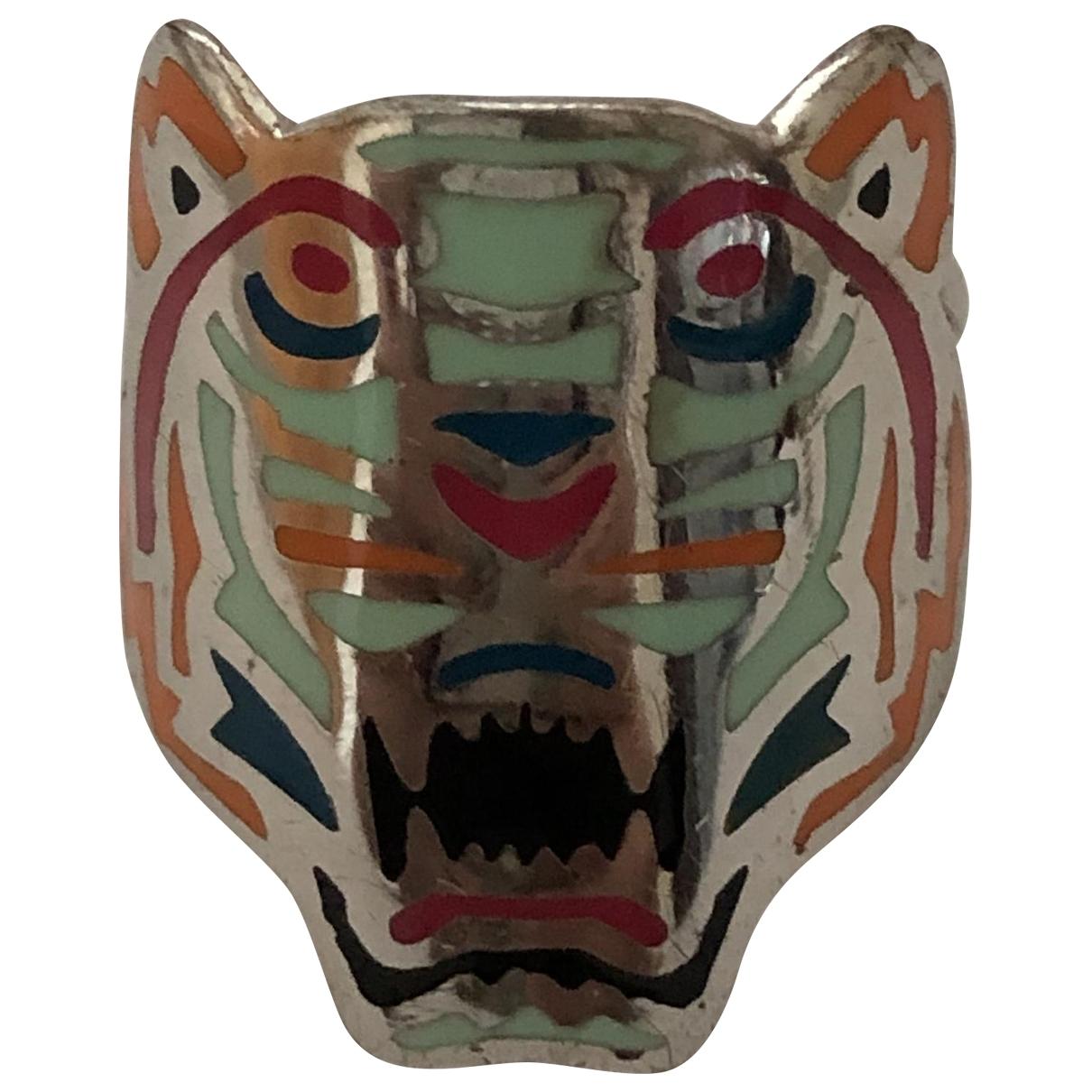 Kenzo - Bague Tigre pour femme en metal - argente