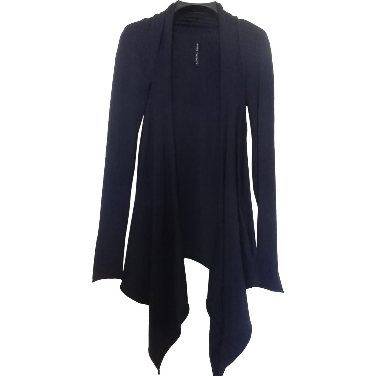 Liviana Conti - Pull   pour femme en laine - bleu