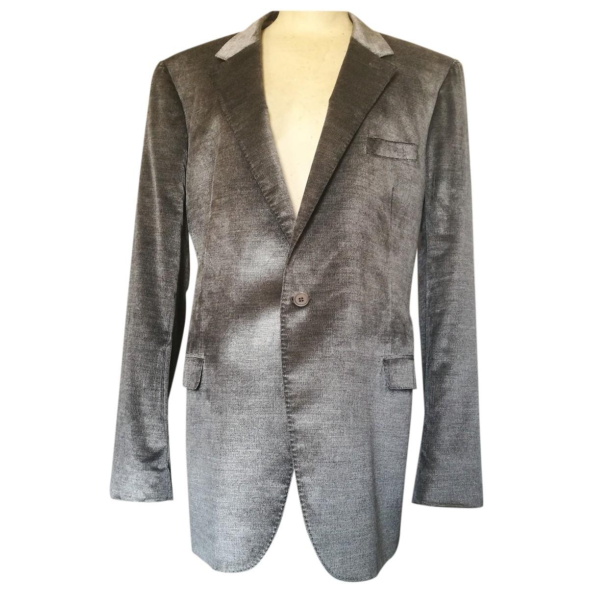 Calvin Klein Collection - Vestes.Blousons   pour homme en coton - gris