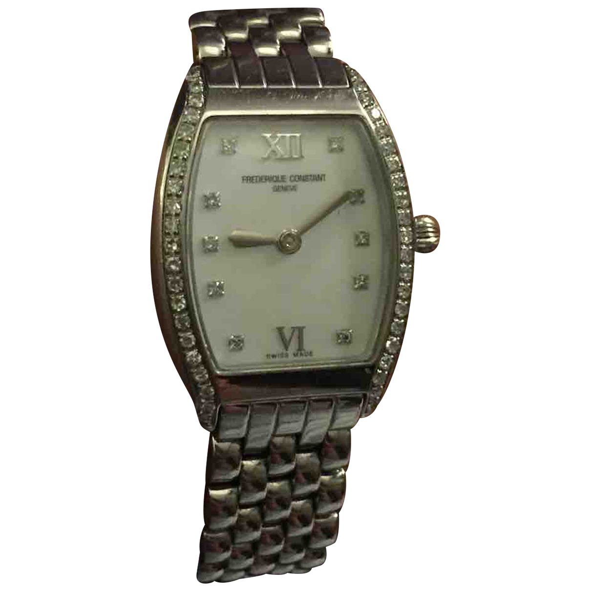 Frederique Constant N Silver Steel watch for Women N