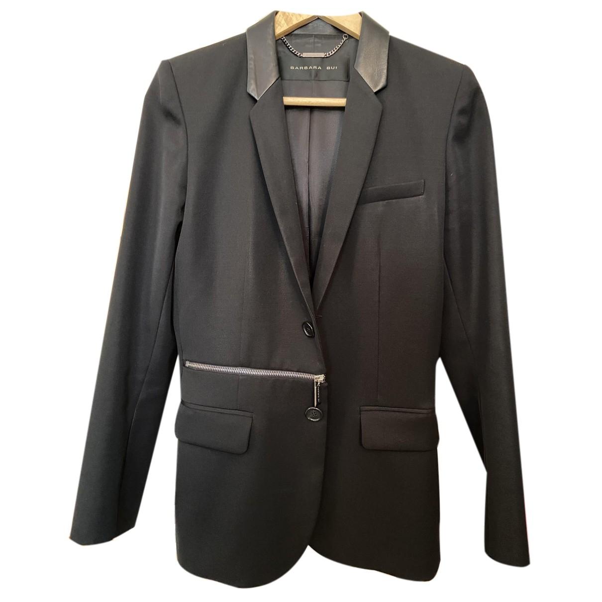 Barbara Bui N Black Wool jacket for Women S International
