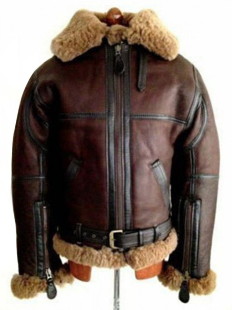 Ericdress Lapel Patchwork Color Block Slim Zipper Jacket