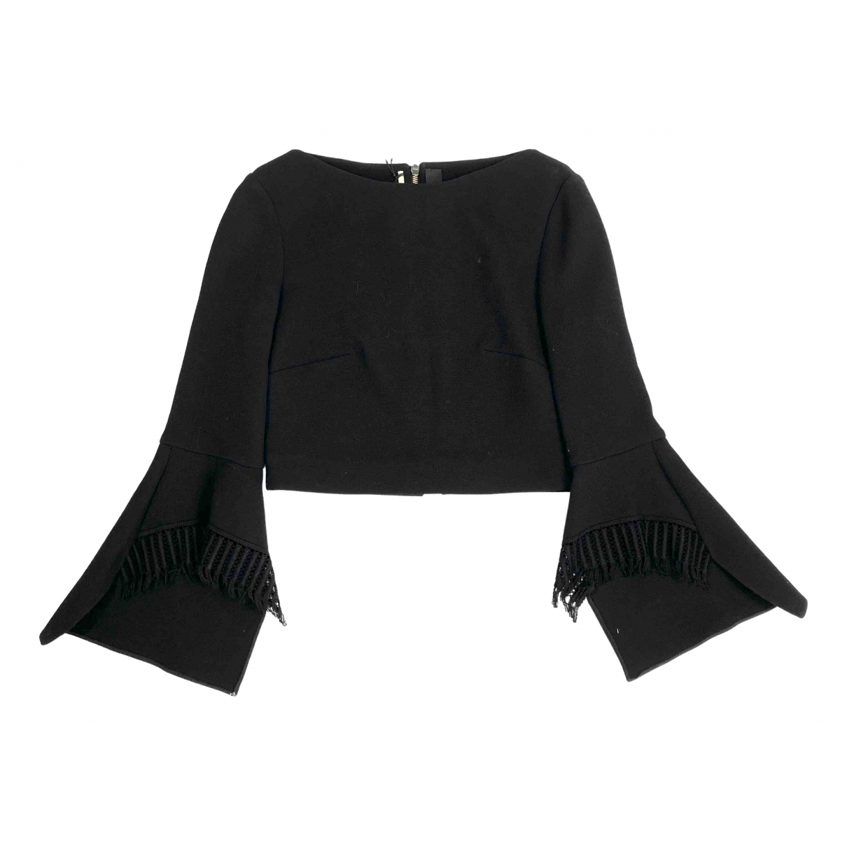 Roland Mouret \N Black Wool  top for Women 10 UK