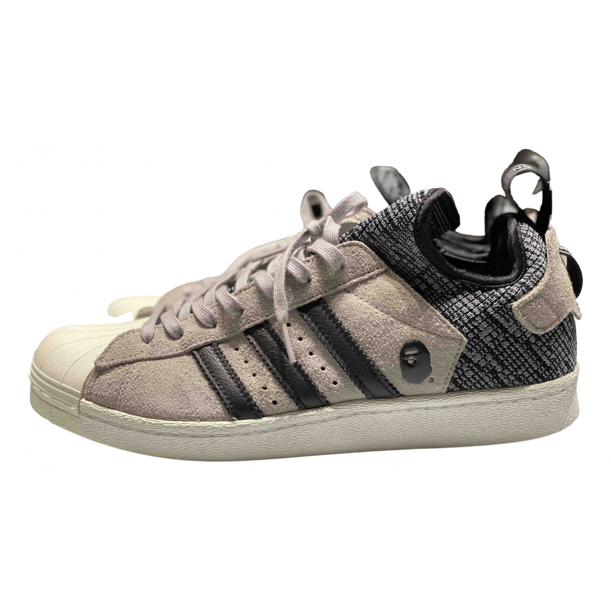Adidas X A Bathing Ape \N Sneakers in Leinen
