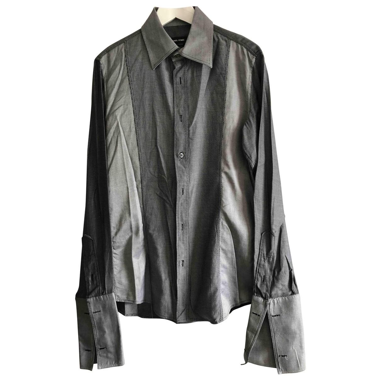Rykiel Homme - Chemises   pour homme en coton - gris