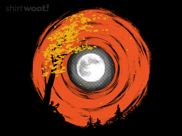 Autumn Moon T Shirt