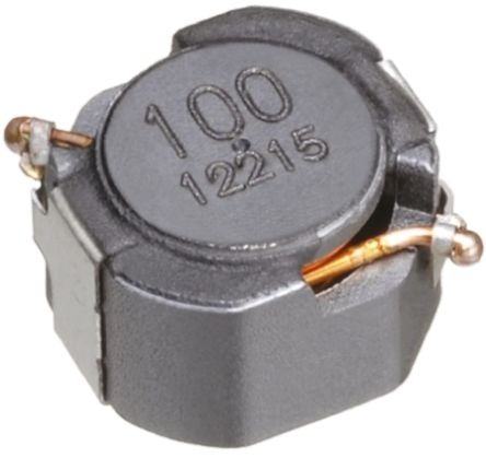 TDK , CLF, Q200 Shielded Wire-wound SMD Inductor with a Ferrite Core, 15 μH ±20% Wire-Wound 2A Idc (5)