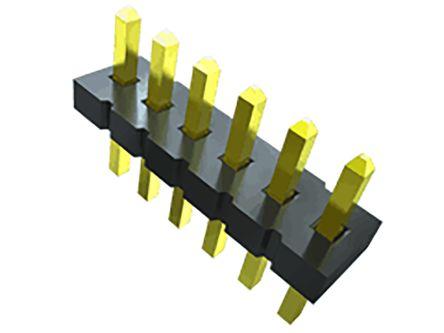 Samtec , FTS, 12 Way, 2 Row, Vertical PCB Header (76)