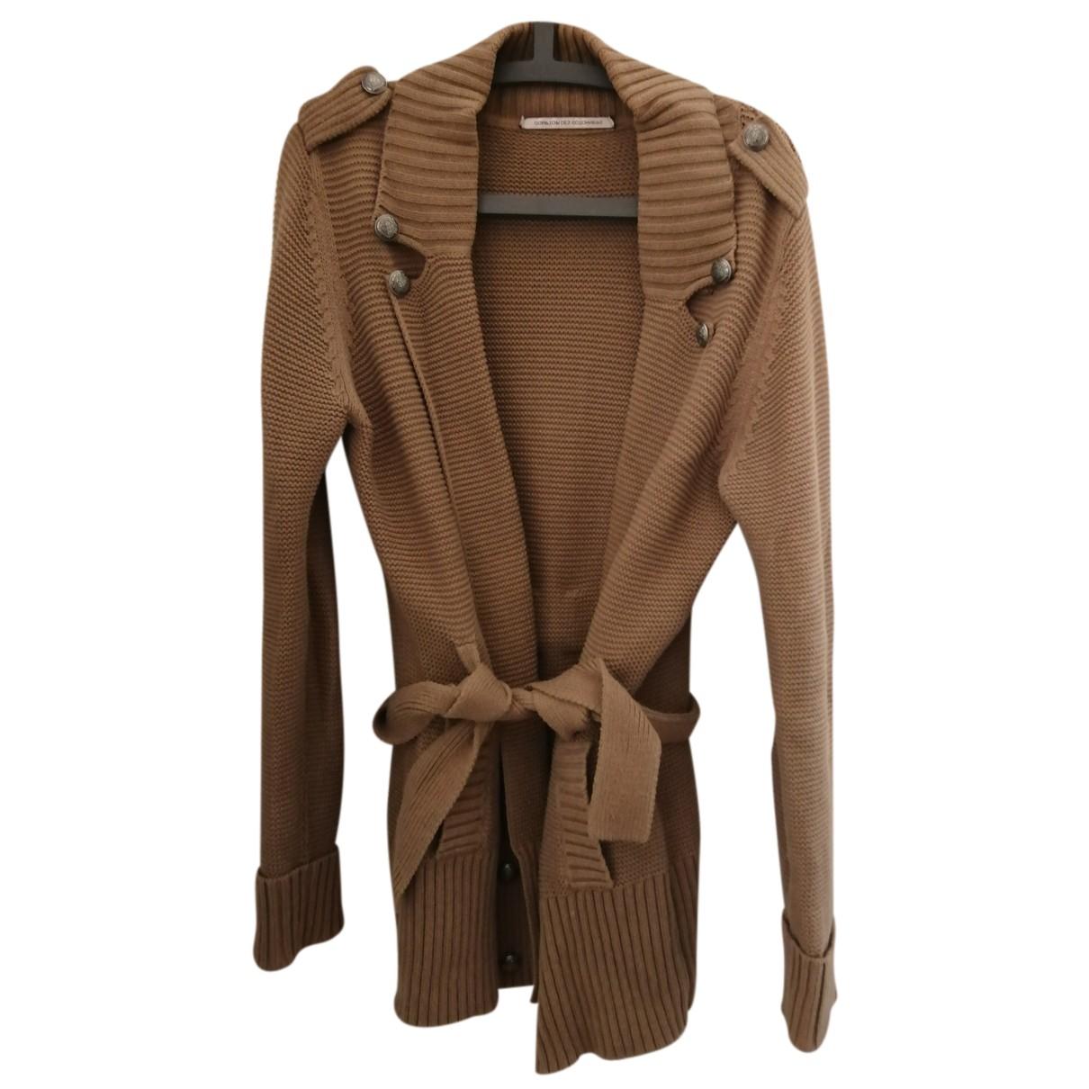 Comptoir Des Cotonniers N Camel Cotton Knitwear for Women L International