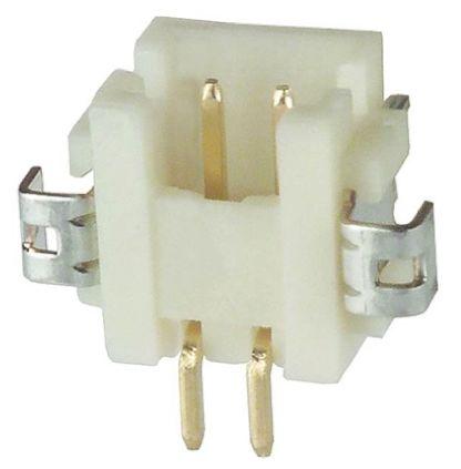 Hirose , DF13, 2 Way, 1 Row, Right Angle PCB Header (10)