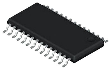 Texas Instruments MSP430F2132IPW, 16bit MSP430 Microcontroller, MSP430, 16MHz, 256 B, 8 kB Flash, 28-Pin TSSOP