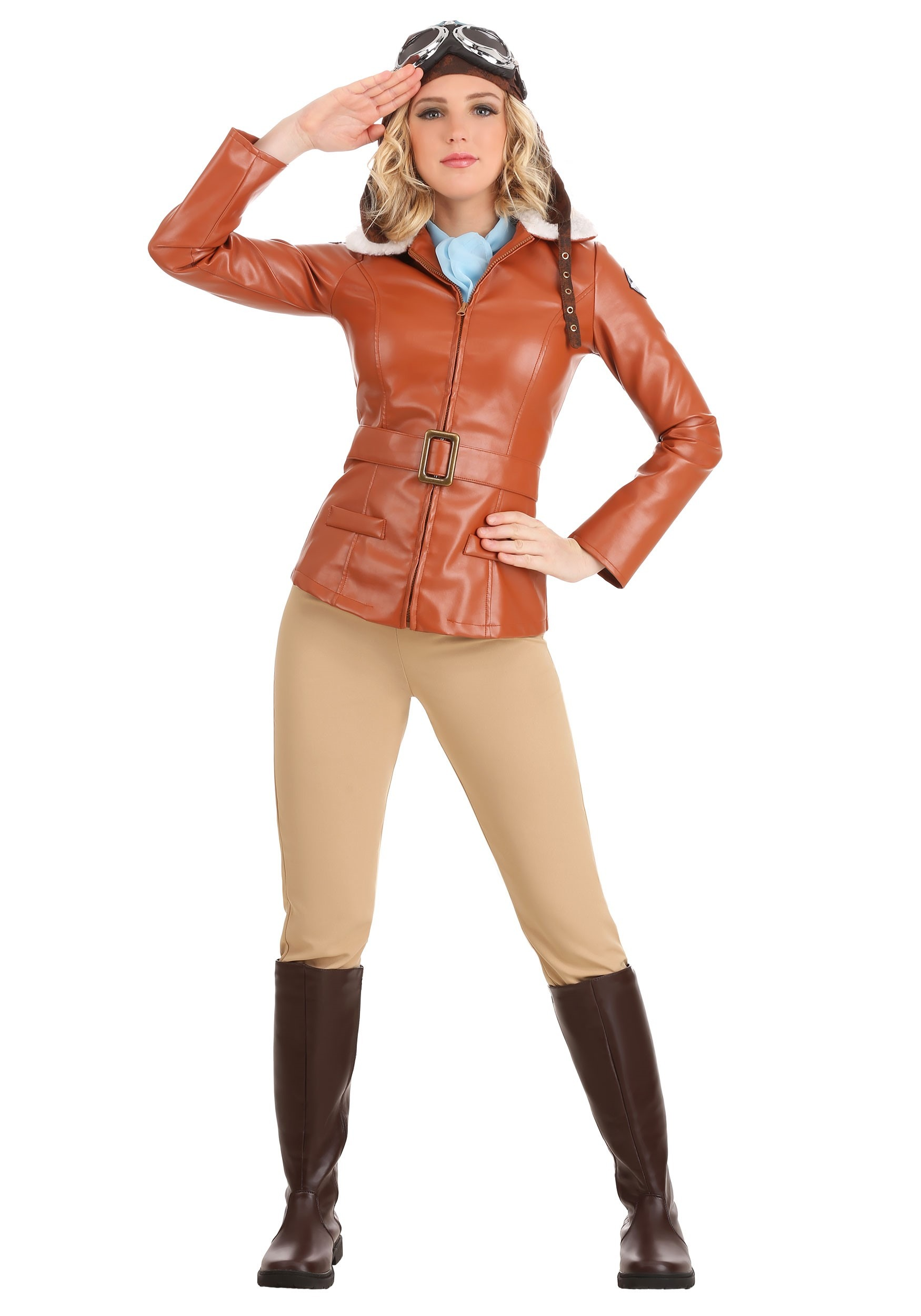 Deluxe Amelia Earhart Costume for Women