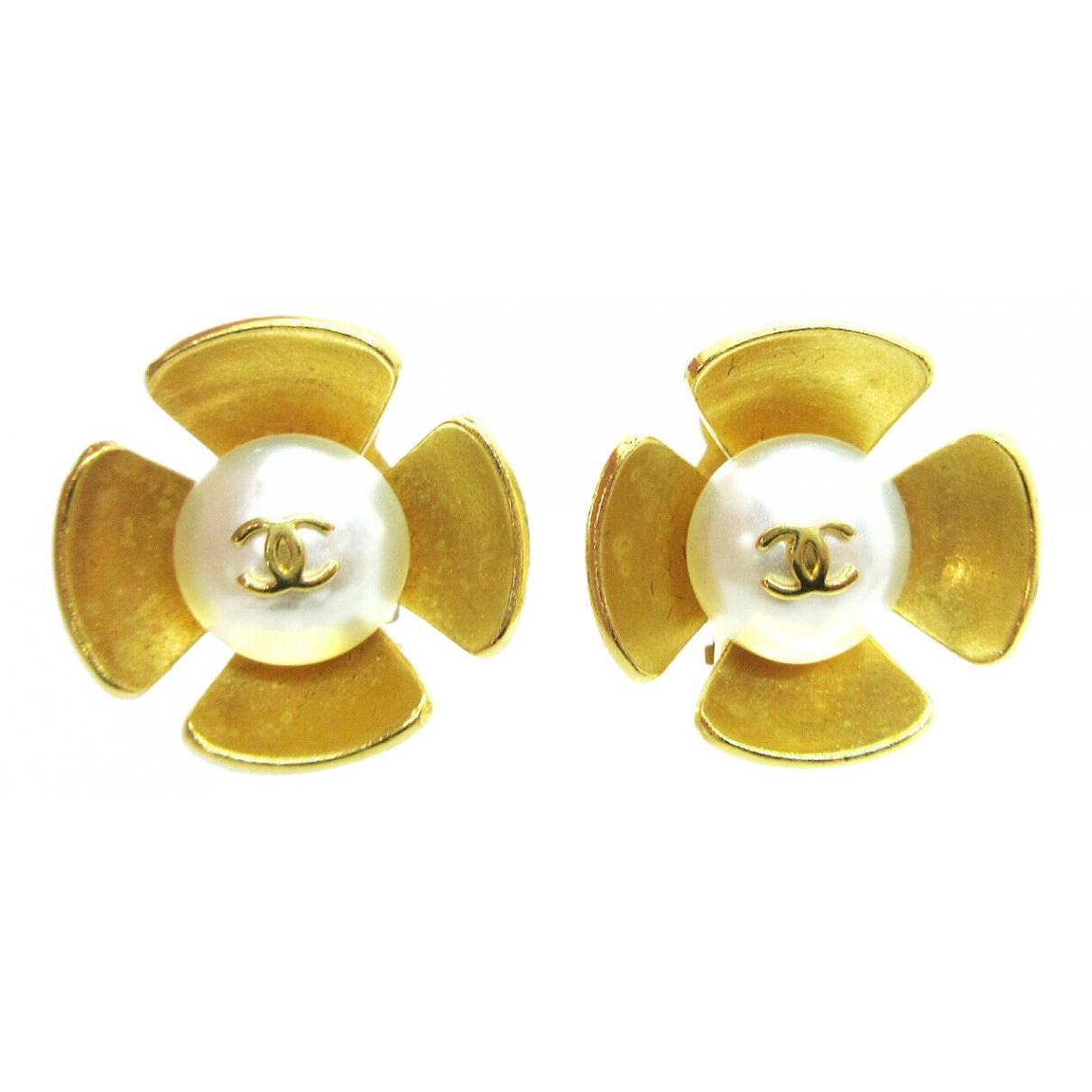 Chanel CC Metal Earrings for Women \N