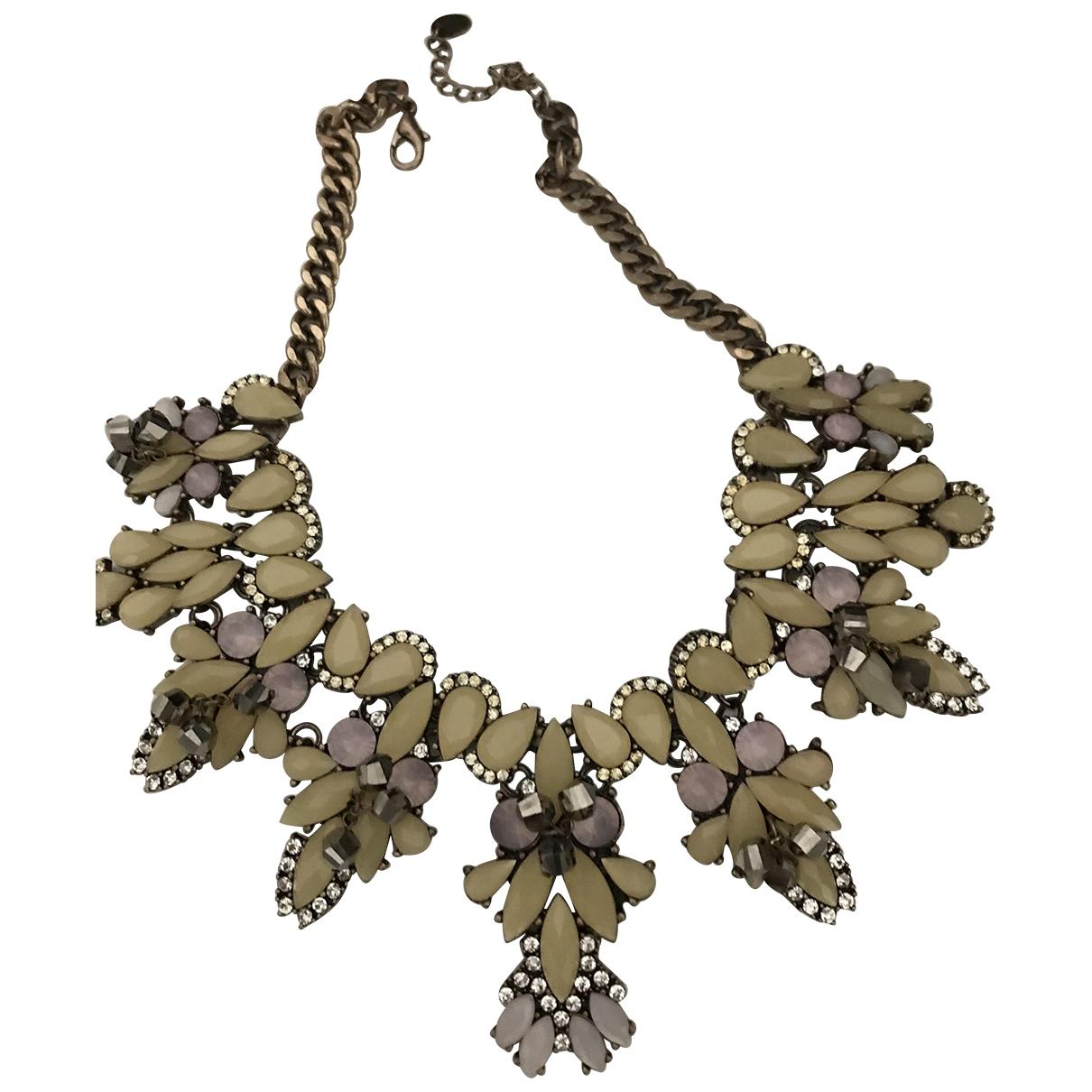 Zara \N Multicolour Metal necklace for Women \N