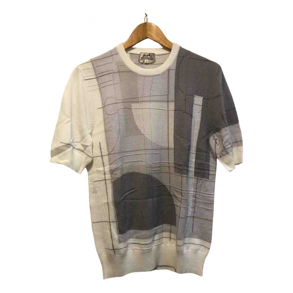 Hermes \N Pullover.Westen.Sweatshirts  in  Grau Kaschmir