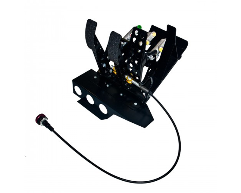 obp Motorsport OBPBLE468 Track-Pro Left Hand Drive Hydraulic Clutch Pedal Box with Master Cylinder BMW 330i E46 02-05