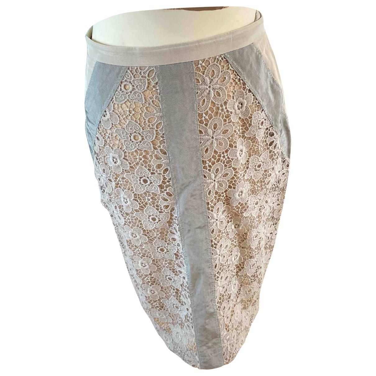 By Malene Birger \N Grey Cotton skirt for Women 12 UK