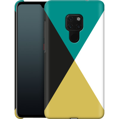 Huawei Mate 20 Smartphone Huelle - Four Triangles von caseable Designs