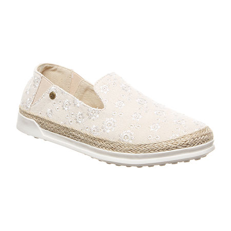 Bearpaw Womens Dixie Flat Sandals, 10 Medium, Gray