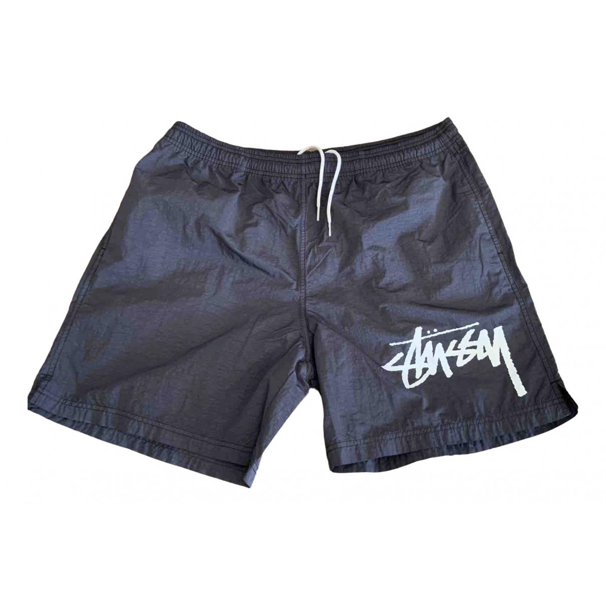 Nike X Stussy \N Shorts in  Schwarz Polyester