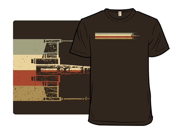 Vintage Star Fighter T Shirt