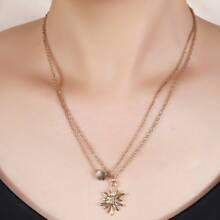2 Stuecke Halsband mit Blumen Dekor