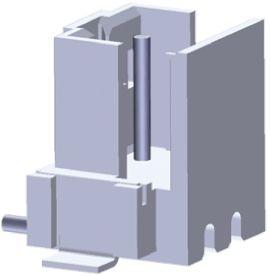 TE Connectivity , AMP CT, 2 Way, 1 Row, Straight PCB Header