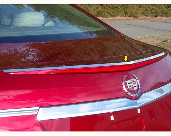 Quality Automotive Accessories 1-Piece Rear Spoiler Trim Cadillac CTS 2014