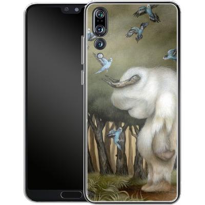 Huawei P20 Pro Silikon Handyhuelle - Until We Meet Again von Dan May