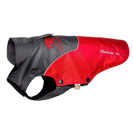 The Pet Life Touchdog Subzero-Storm Waterproof 3M Reflective Dog Coat w/ Blackshark technology, One Size , Red