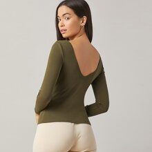 V-back Solid Top